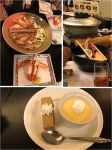カニ料理各種